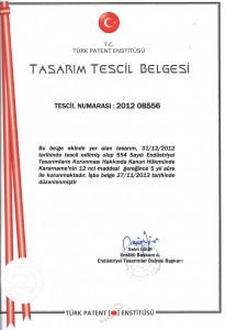 Firmamız bünyesinde geliştirilen ''Yeni Nesil Radyatör'' patent belgesi