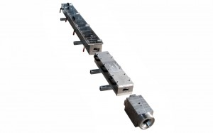 Coex Kaplı Çit Profili Kalıbı (Kafa + Kalibre + Su Tankları)